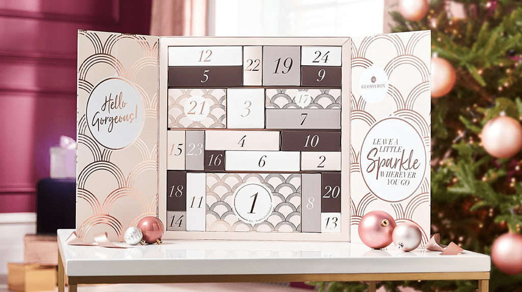 Calendario adviento belleza 2019 2 Glossy Box