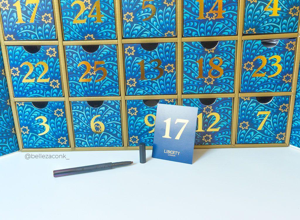 calendario adviento belleza 2017 liberty P17