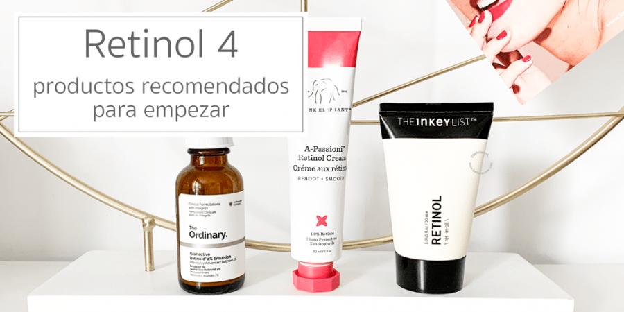Retinol productos recomendados para empezar 1