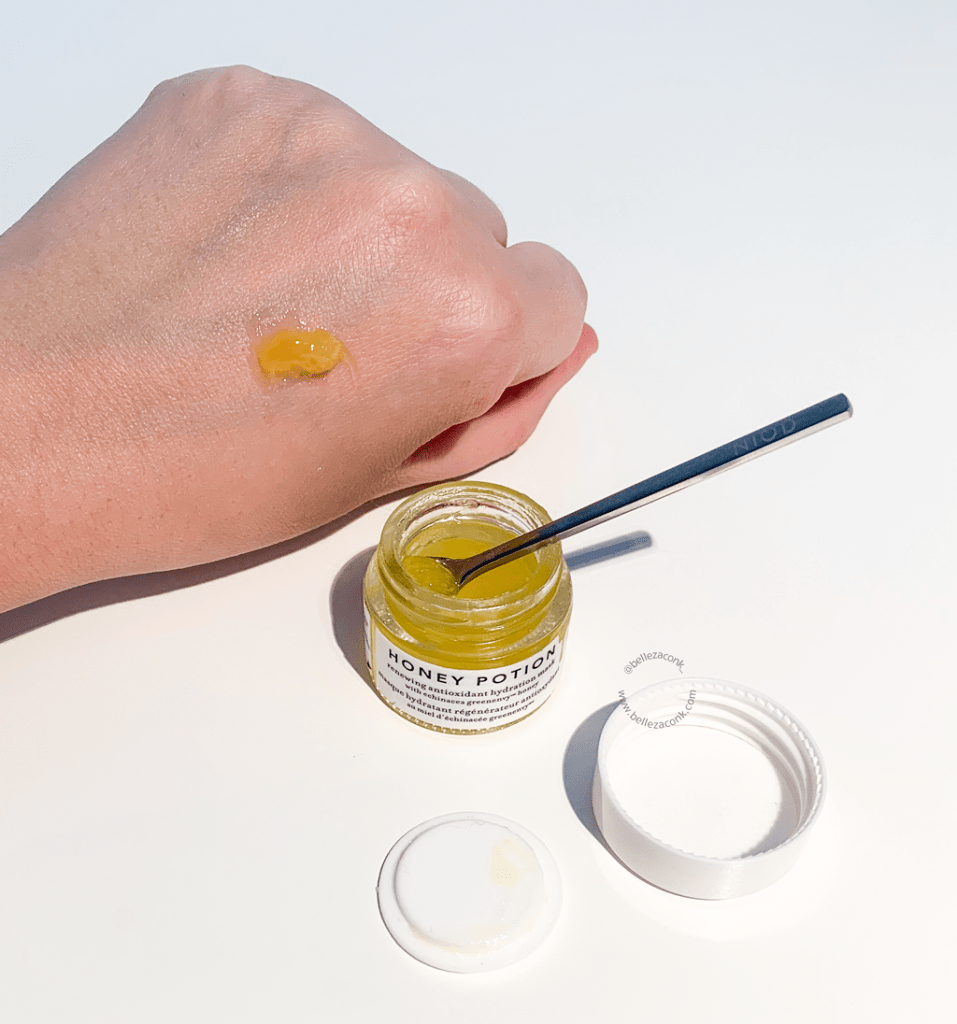 Review Farmacy Honey Potion Mask 5