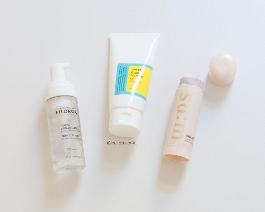 productos para la doble limpieza facial 3