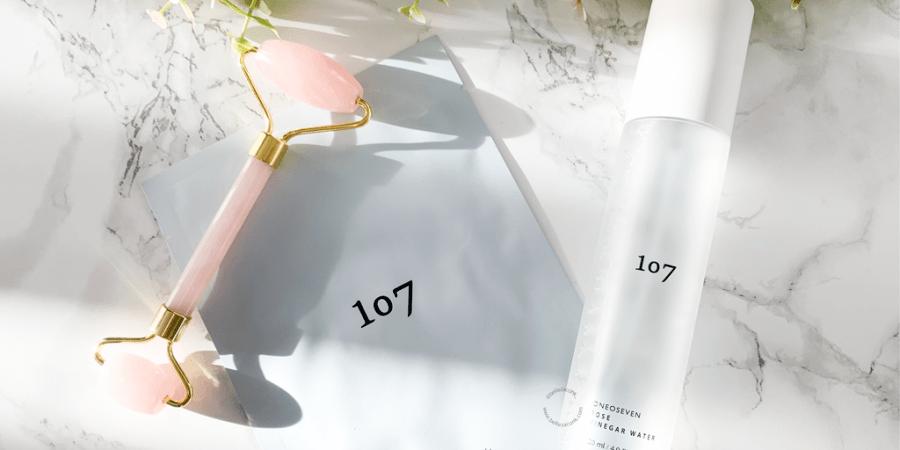 review 107 rose vinegar water illuminating moisture mask 1